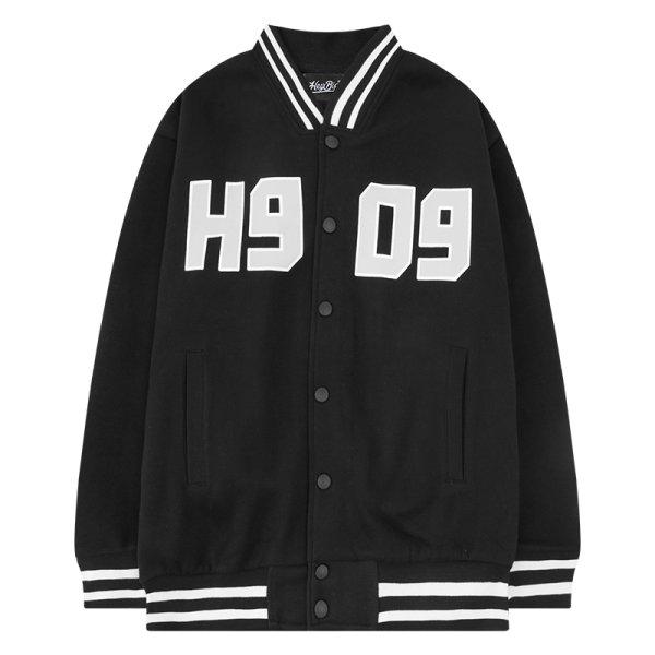 画像1: Unisex contrast Stadium Jumper  jacket blouson ユニセックス 男女兼用コントラストスタジアムジャンパー  スタジャン MA-1 ボンバー ジャケット ブルゾン (1)
