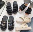 画像3: Capri volume sole sandal slippers    Capri ボリュームソール サンダル フリップフロップ  シャワー ビーチ サンダル  (3)