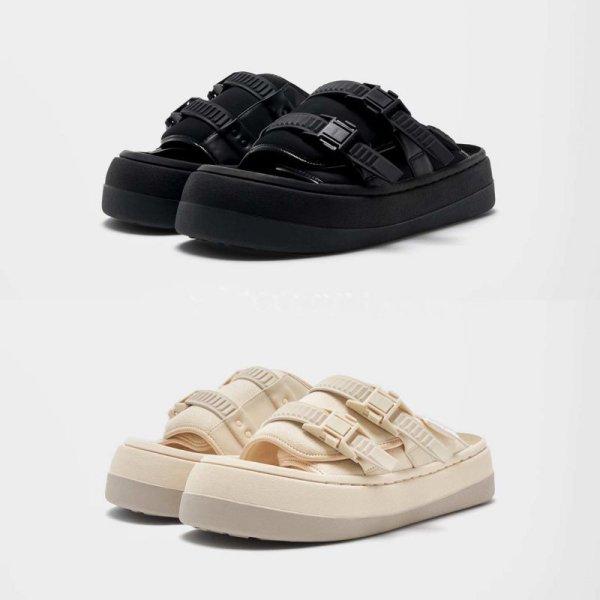 画像1: Capri volume sole sandal slippers    Capri ボリュームソール サンダル フリップフロップ  シャワー ビーチ サンダル  (1)