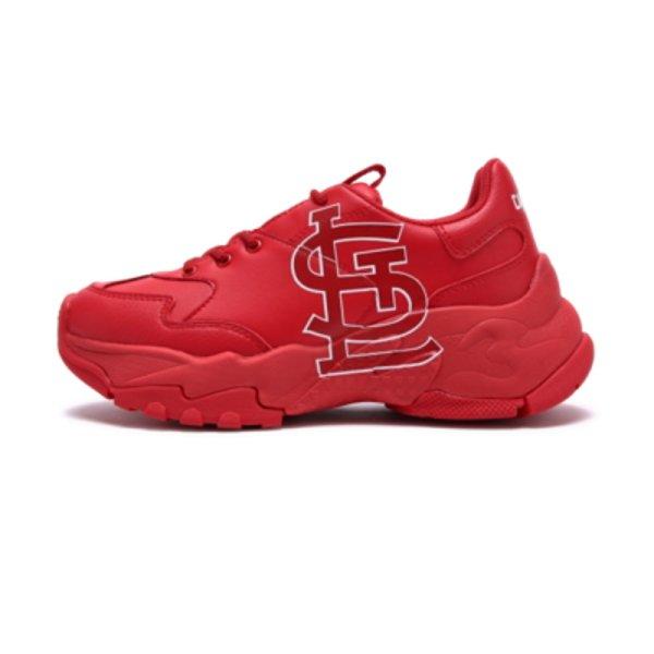 画像1: 即発St. Louis CardinalsChunky Sneaker  ユニセックスセントルイス・カージナルスロゴ 厚底 ベースボール ロゴ スニーカー (1)