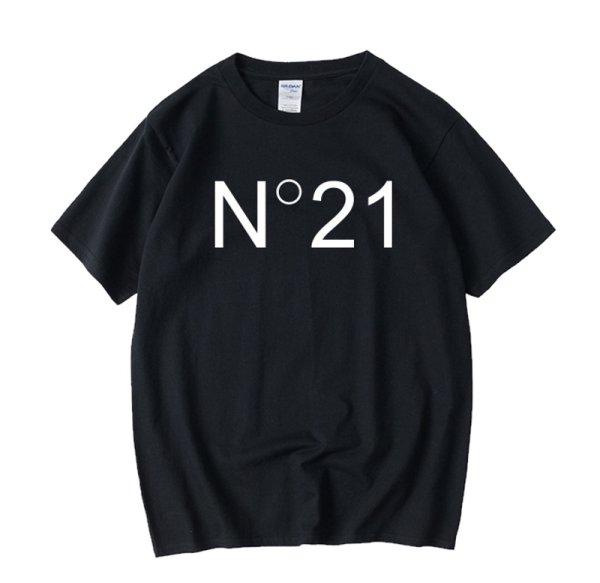 画像1: N21 trend element Malong T-shirt unisex 男女兼用 ユニセックス N21ロゴ 半袖Tシャツ (1)