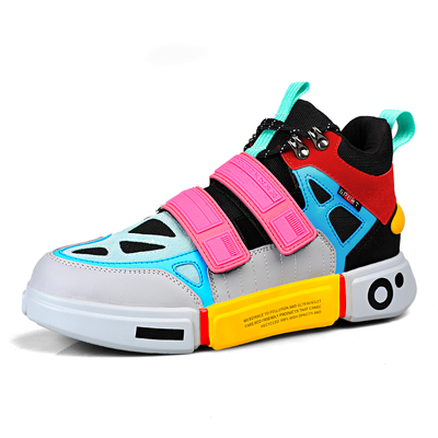 men's unisex velcro sneaker street casual sneakers 男女兼用